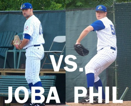 Phil Hughes vs. Joba Chamberlain - Graphic by MikeAshmore
