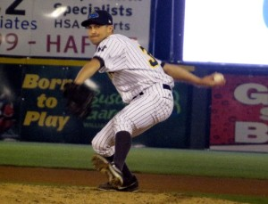 Former Colorado Rockies pitcher Matt Daley debuted with the Thunder on Thursday.