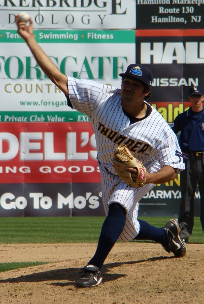 Kanekoa Texeira starred for the Thunder out of the bullpen in 2009 (Photo: Mike Ashmore)