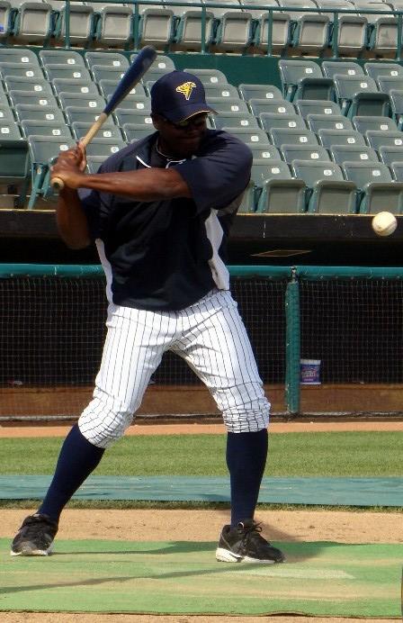 James Rowson hits ground balls in Trenton two years ago (Photo: Mike Ashmore)